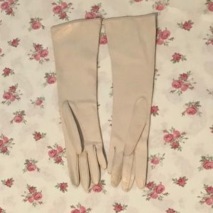 Vintage Accessories - Deadstock Dayne Taylor Soft Leather Long Gloves